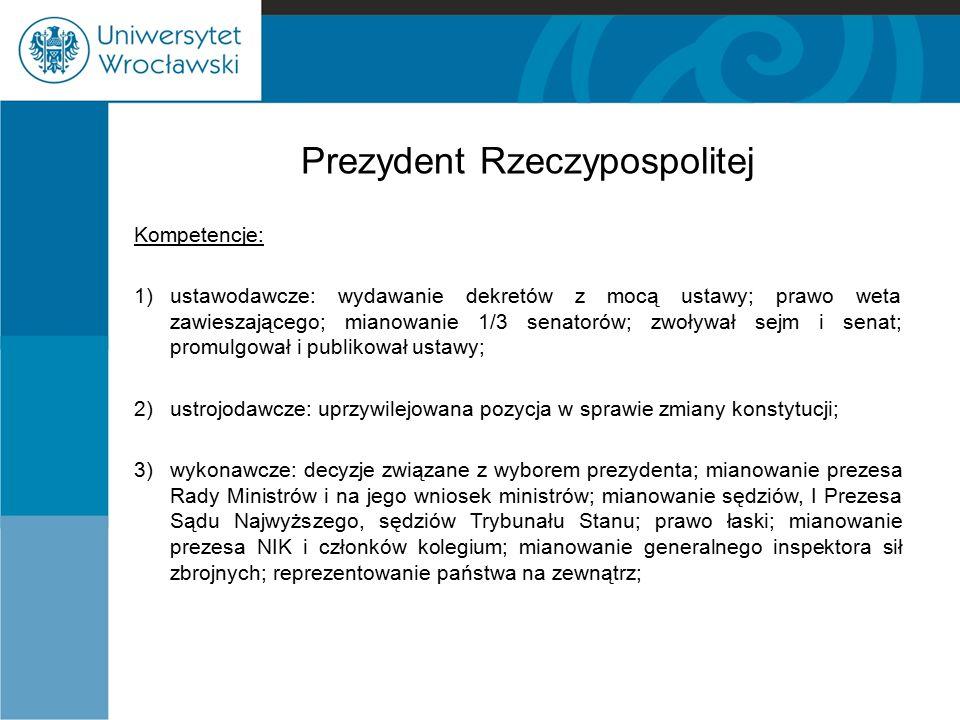 Prezydent Rzeczypospolitej