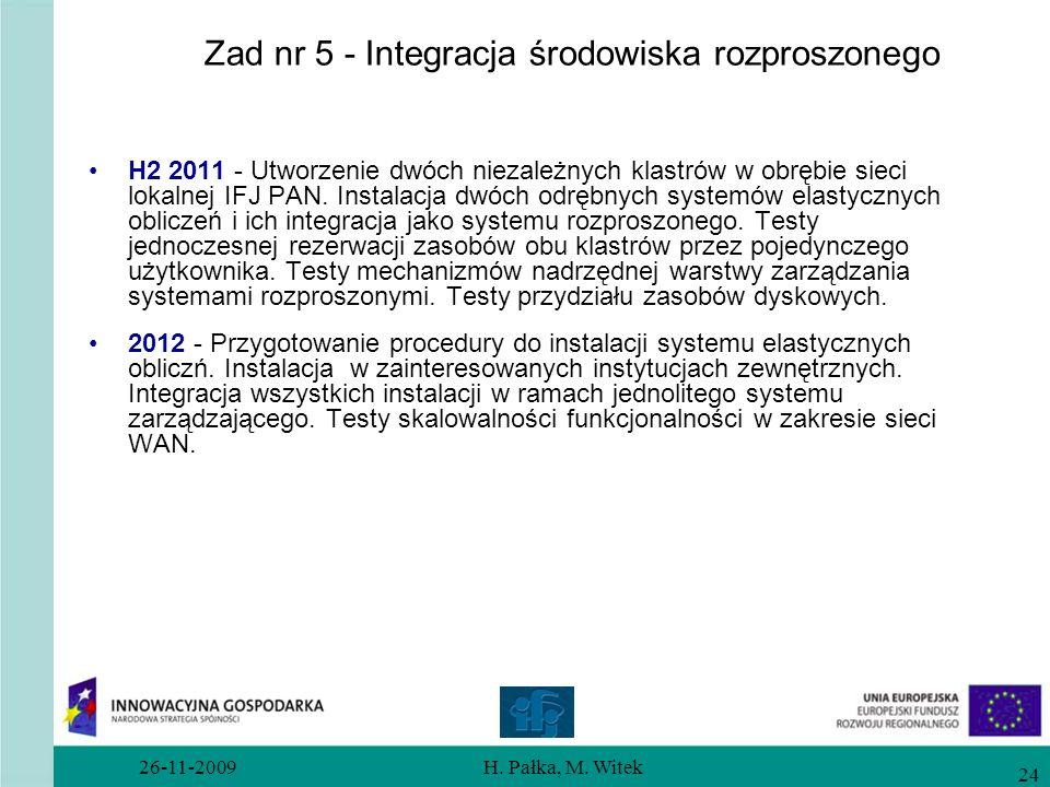 Zad nr 5 - Integracja środowiska rozproszonego
