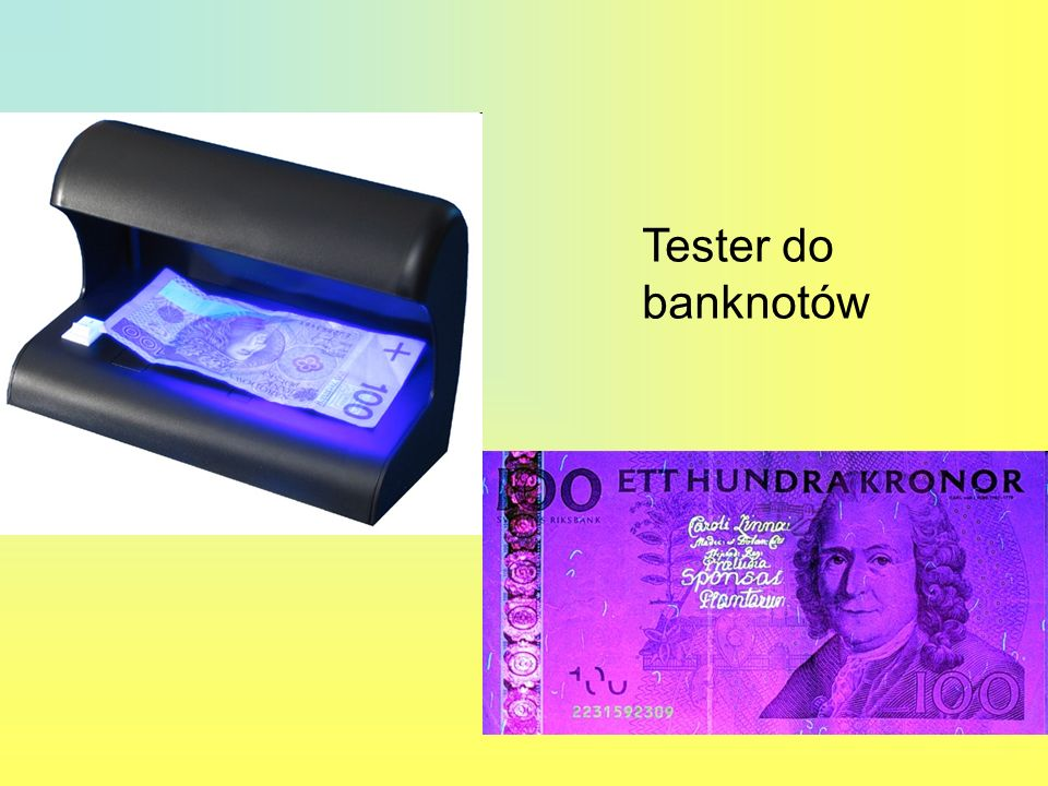 Tester do banknotów