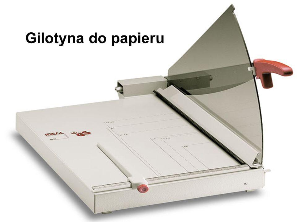 Gilotyna do papieru