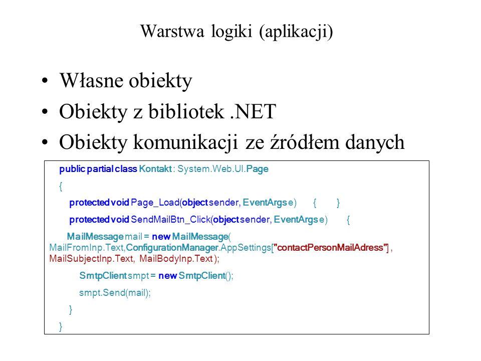 Warstwa logiki (aplikacji)