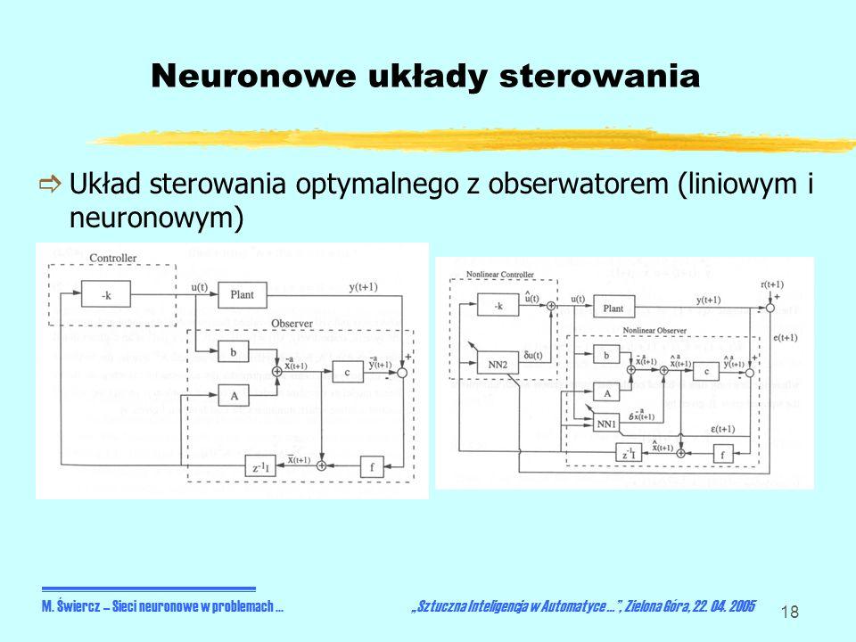 Neuronowe układy sterowania