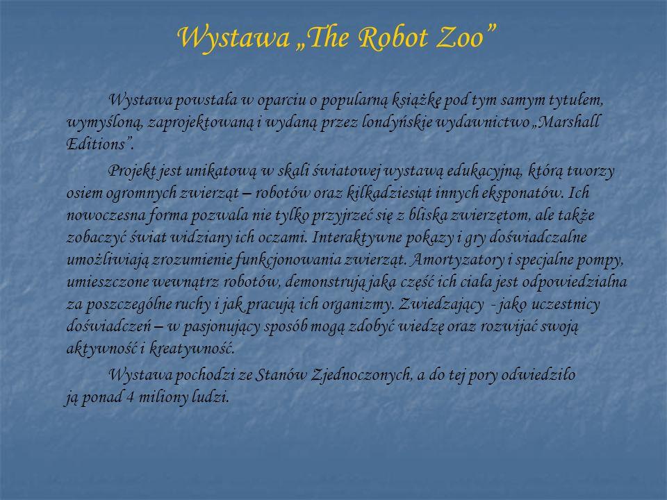 "Wystawa ""The Robot Zoo"