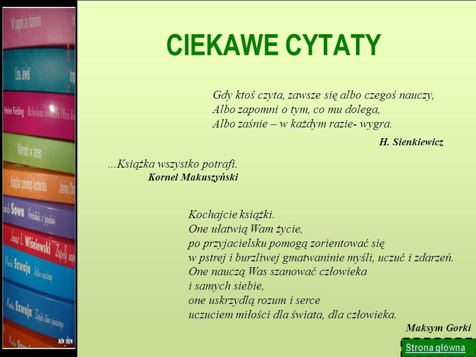 CIEKAWE CYTATY