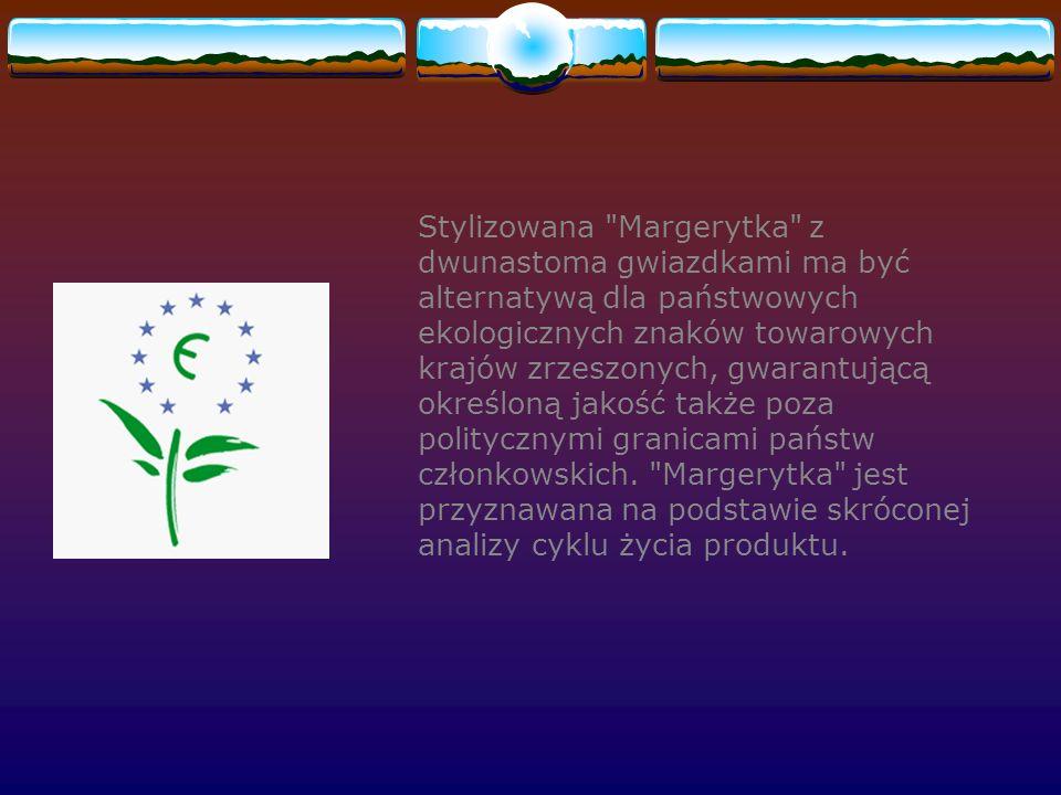 Stylizowana Margerytka z dwunastoma gwiazdkami ma być alternatywą dla państwowych ekologicznych znaków towarowych krajów zrzeszonych, gwarantującą określoną jakość także poza politycznymi granicami państw członkowskich.