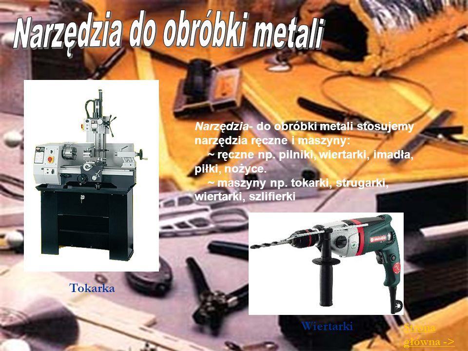 Narzędzia do obróbki metali