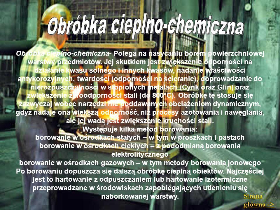 Obróbka cieplno-chemiczna
