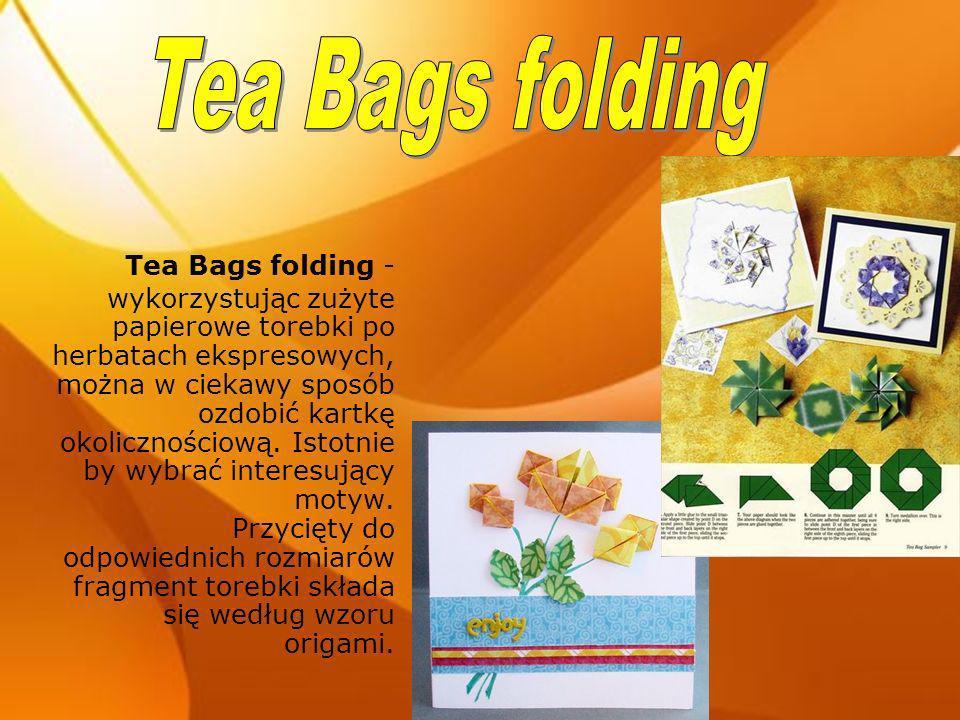 Tea Bags folding