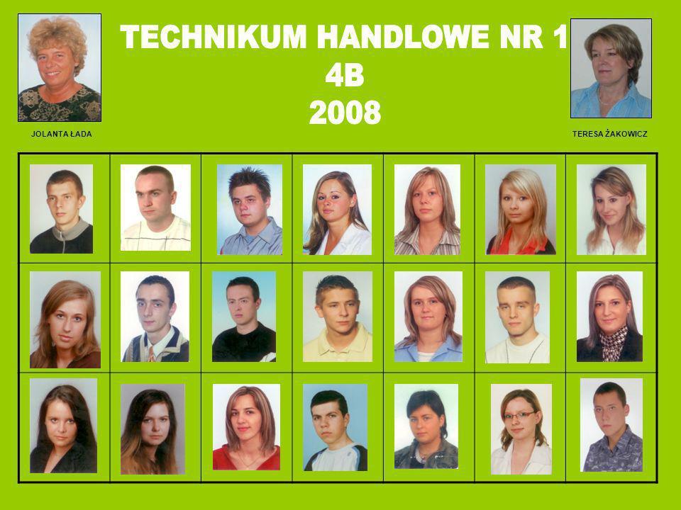 TECHNIKUM HANDLOWE NR 1 4B 2008 JOLANTA ŁADA TERESA ŻAKOWICZ ADFAMCZYK