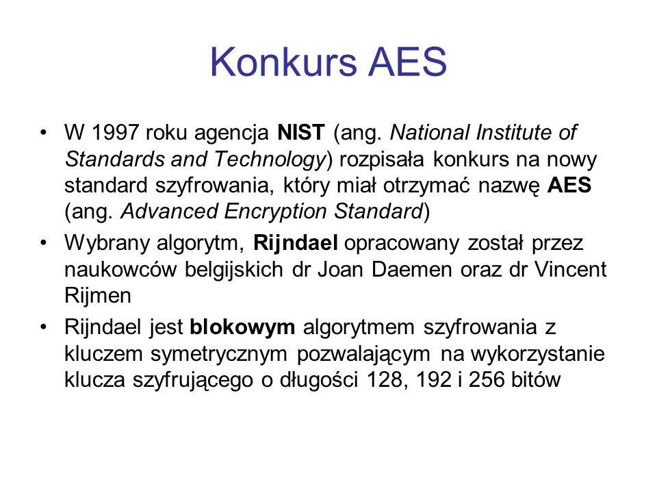 Konkurs AES