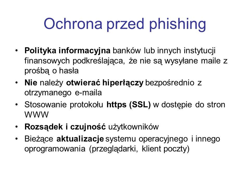 Ochrona przed phishing