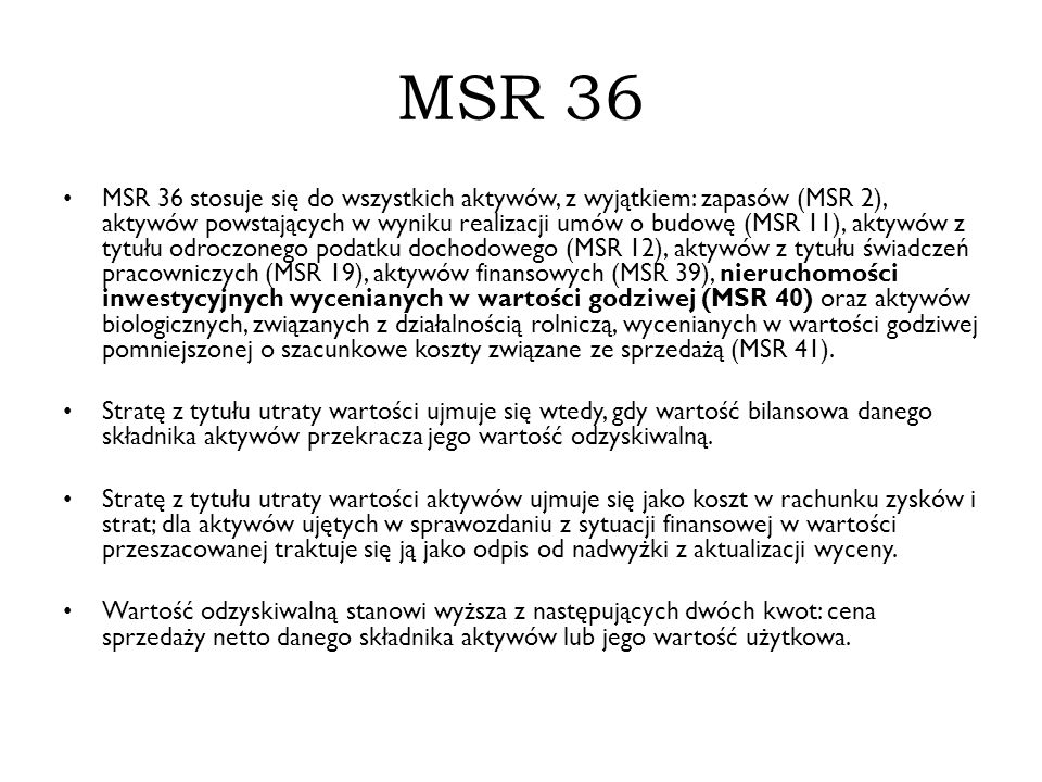 MSR 36