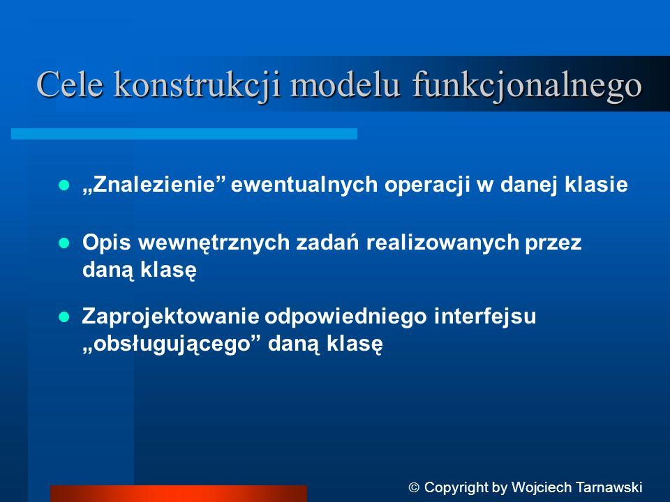 Cele konstrukcji modelu funkcjonalnego