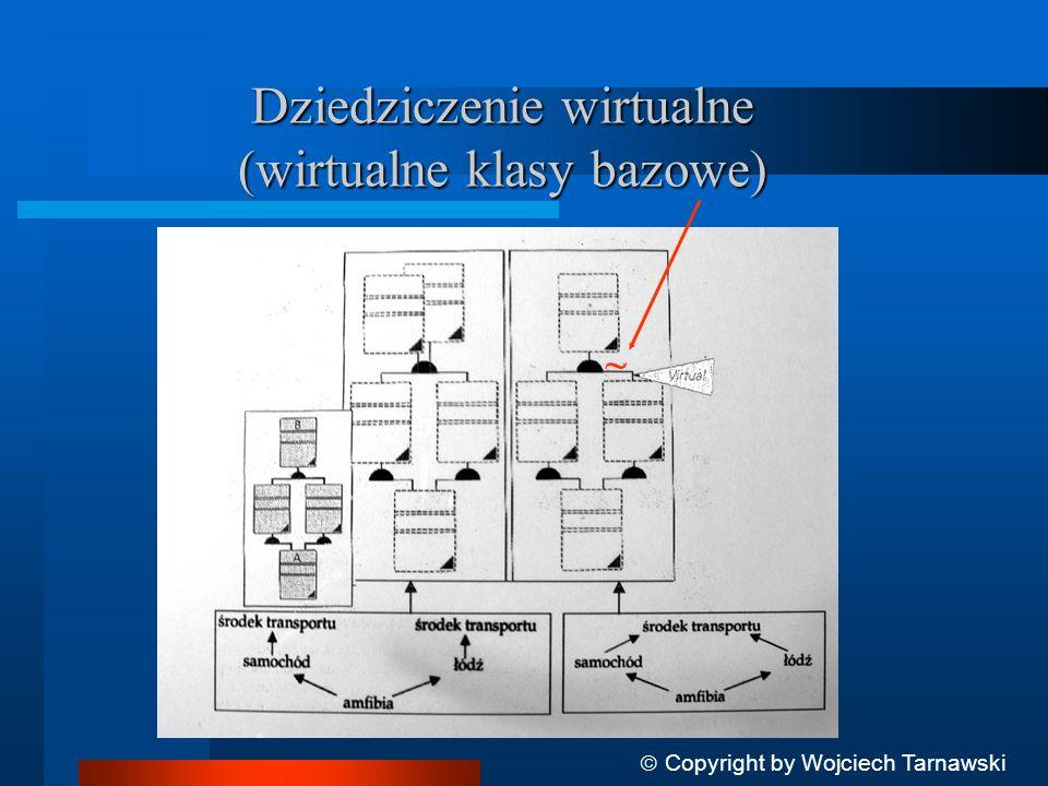 Dziedziczenie wirtualne (wirtualne klasy bazowe)