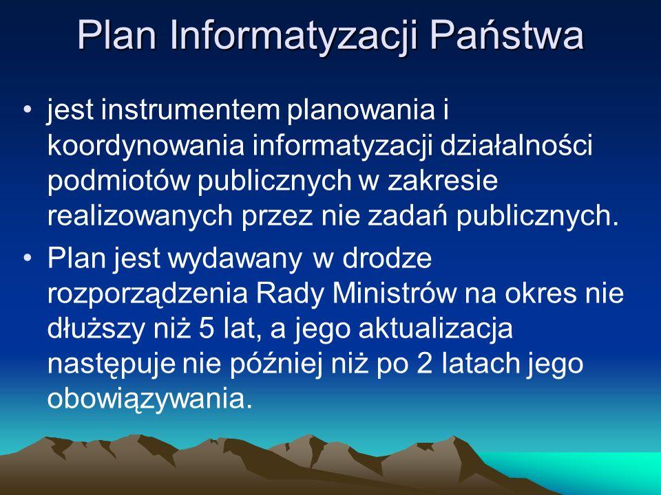 Plan Informatyzacji Państwa