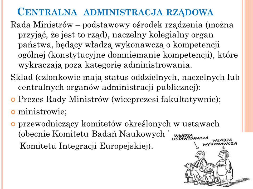 Centralna administracja rządowa