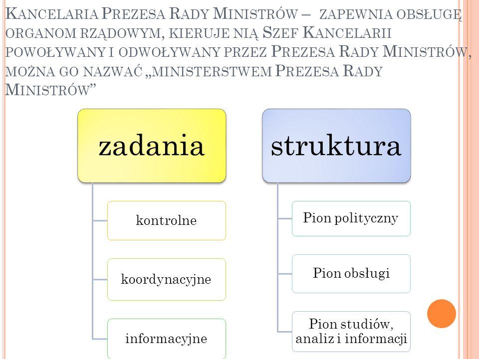 Pion studiów, analiz i informacji