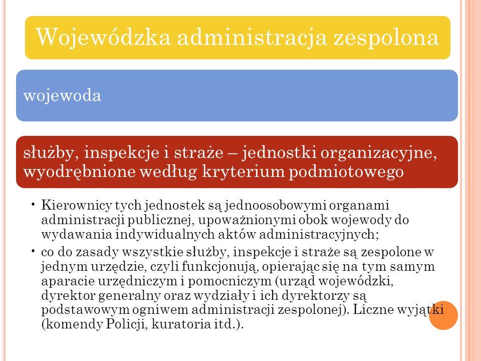 Wojewódzka administracja zespolona