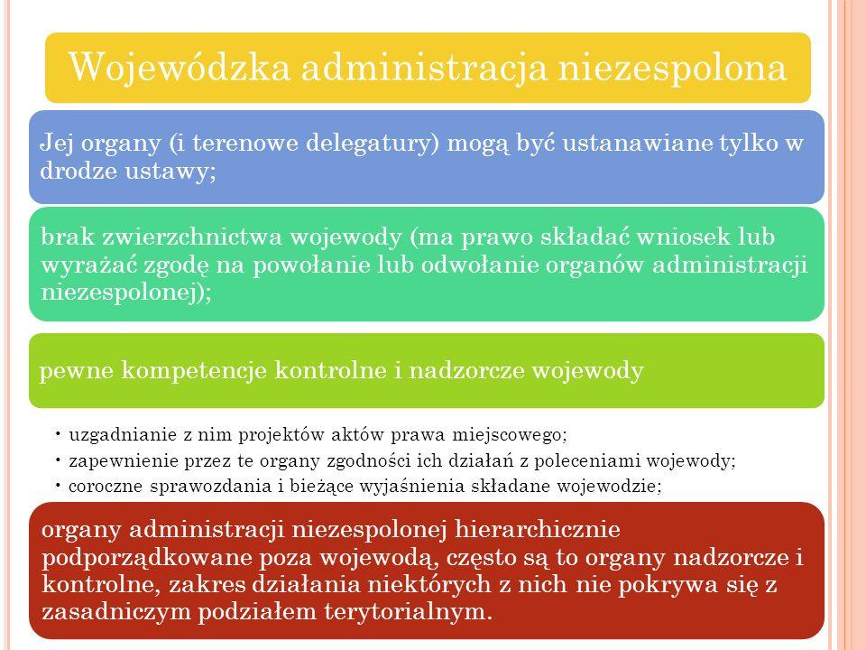 Wojewódzka administracja niezespolona