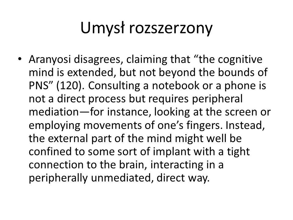 Umysł rozszerzony