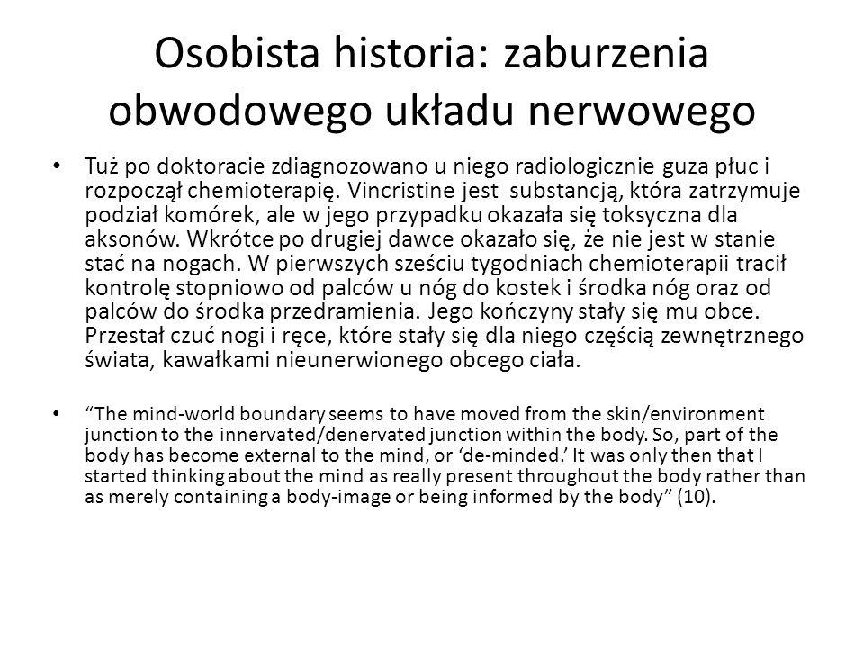 Osobista historia: zaburzenia obwodowego układu nerwowego