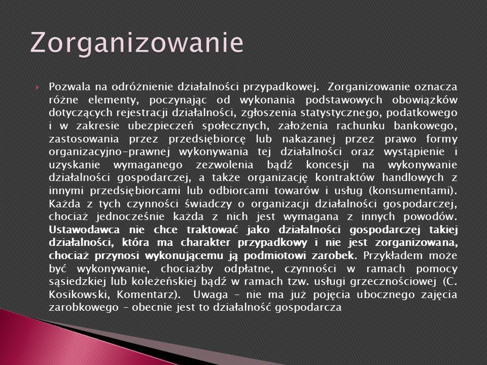 Zorganizowanie