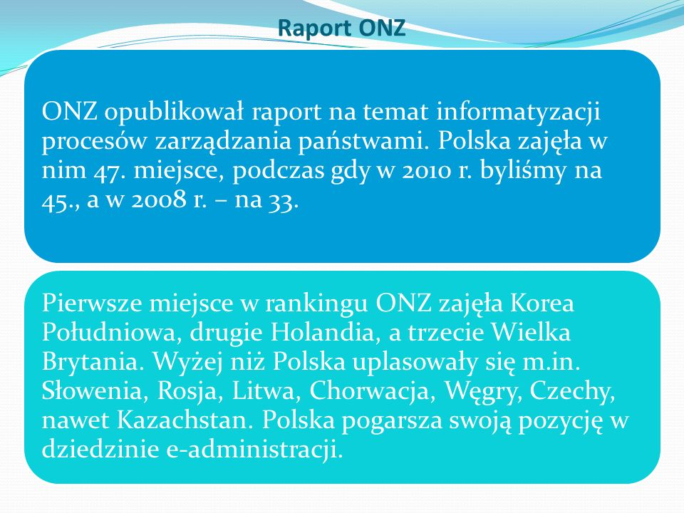 Raport ONZ