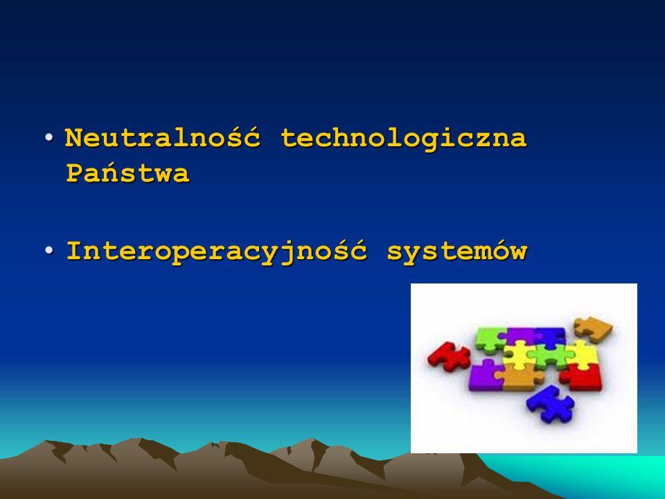 Neutralność technologiczna Państwa