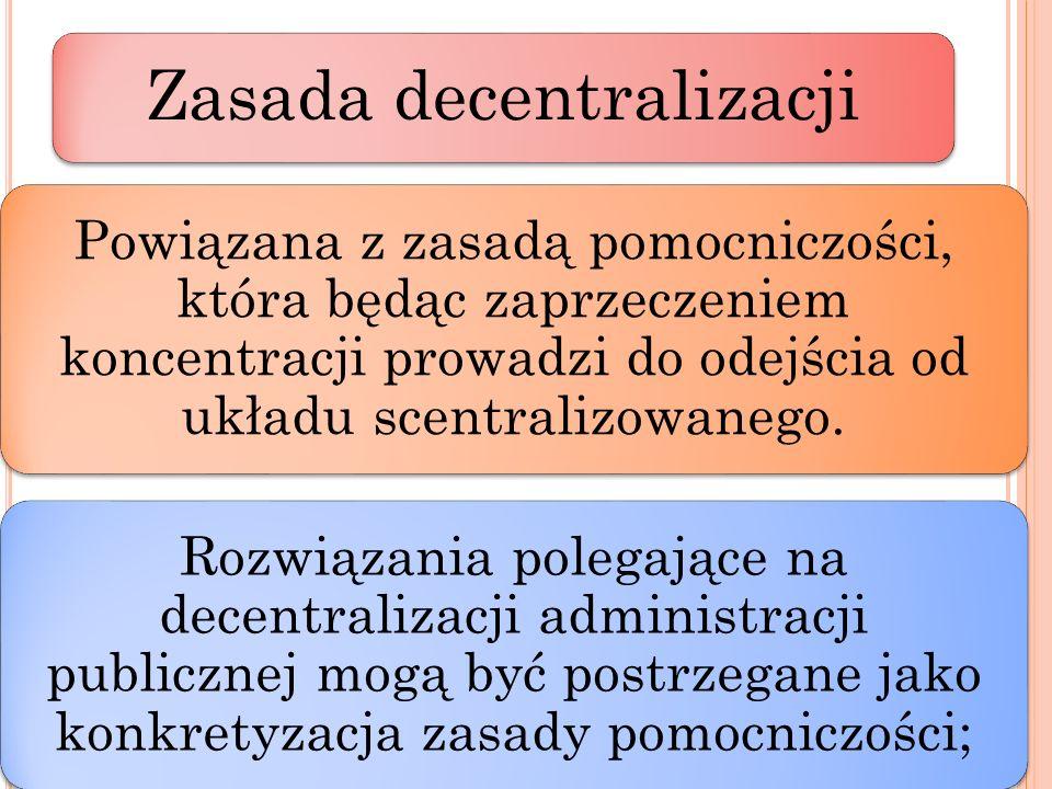 Zasada decentralizacji