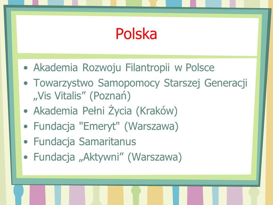 Polska Akademia Rozwoju Filantropii w Polsce