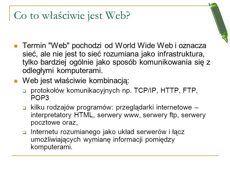 Co to właściwie jest Web