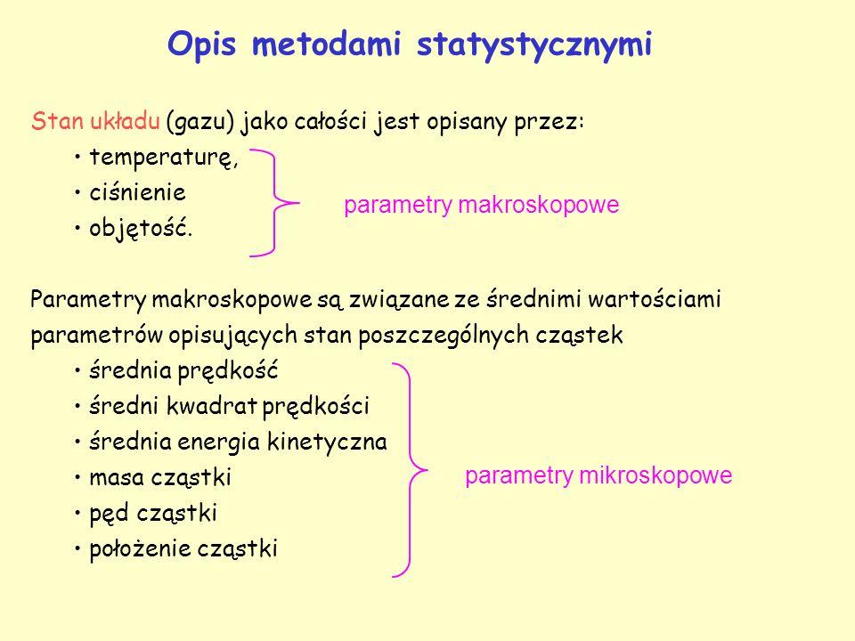 Opis metodami statystycznymi
