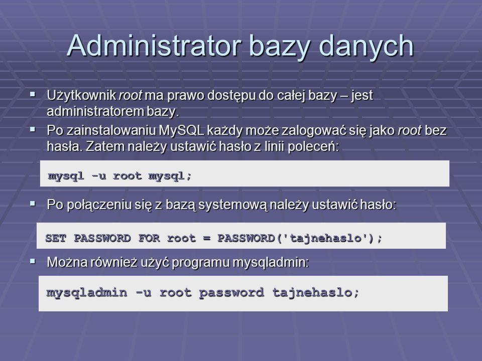 Administrator bazy danych