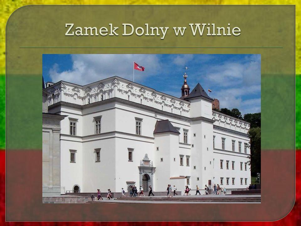Zamek Dolny w Wilnie