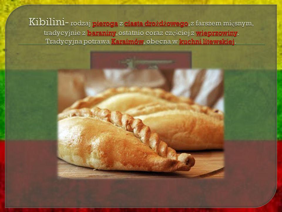 Kibilini- rodzaj pieroga z ciasta drożdżowego, z farszem mięsnym, tradycyjnie z baraniny, ostatnio coraz częściej z wieprzowiny.