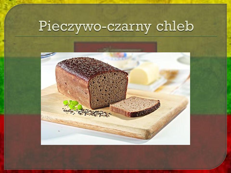 Pieczywo-czarny chleb