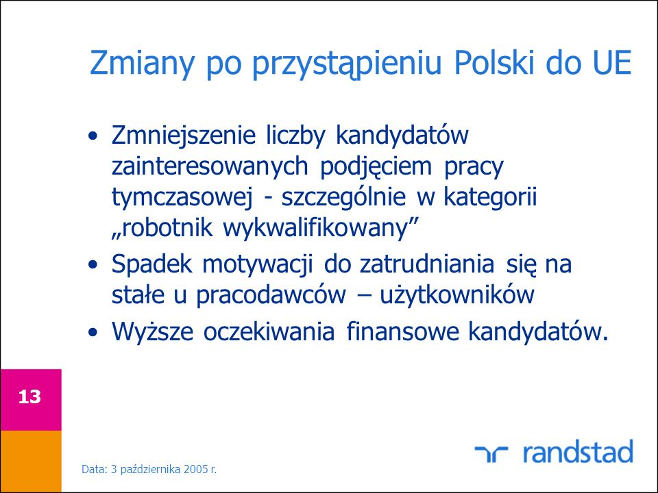 Zmiany po przystąpieniu Polski do UE