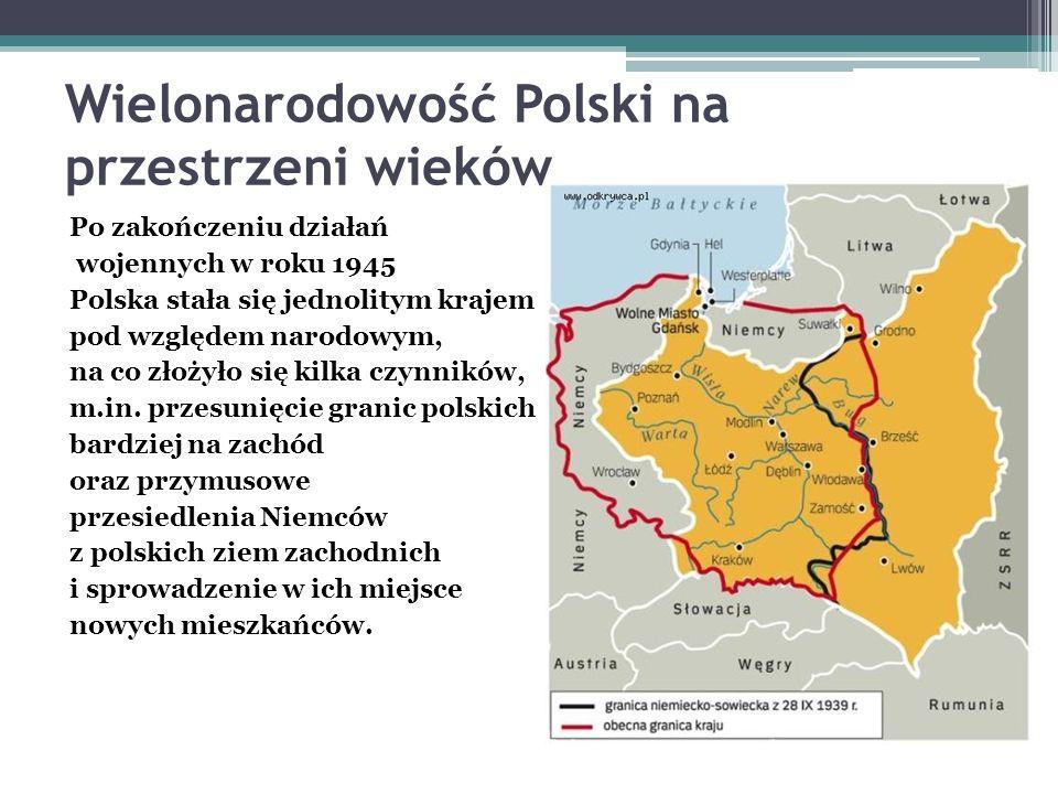 Wielonarodowość Polski na przestrzeni wieków
