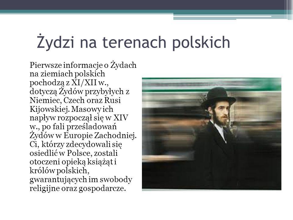 Żydzi na terenach polskich