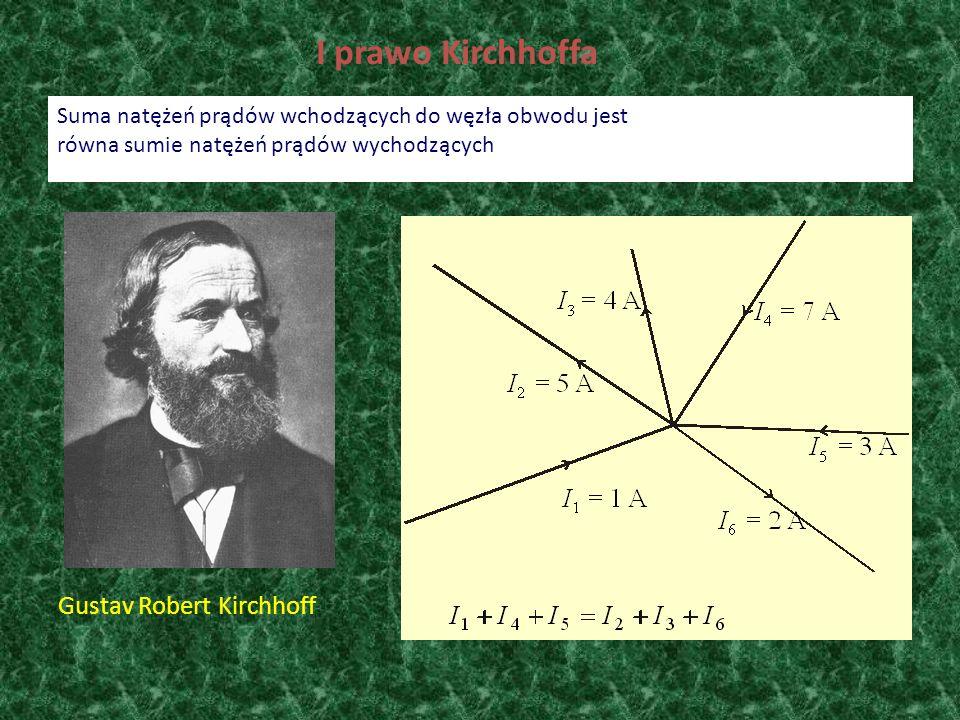 I prawo Kirchhoffa Gustav Robert Kirchhoff