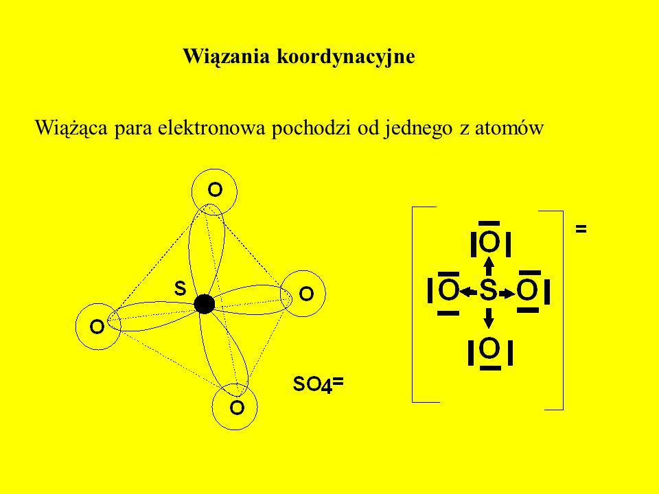 Wiązania koordynacyjne