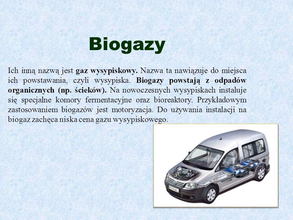 Biogazy