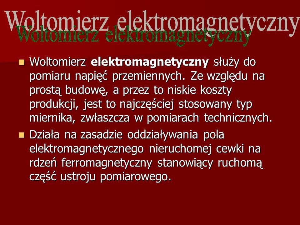 Woltomierz elektromagnetyczny