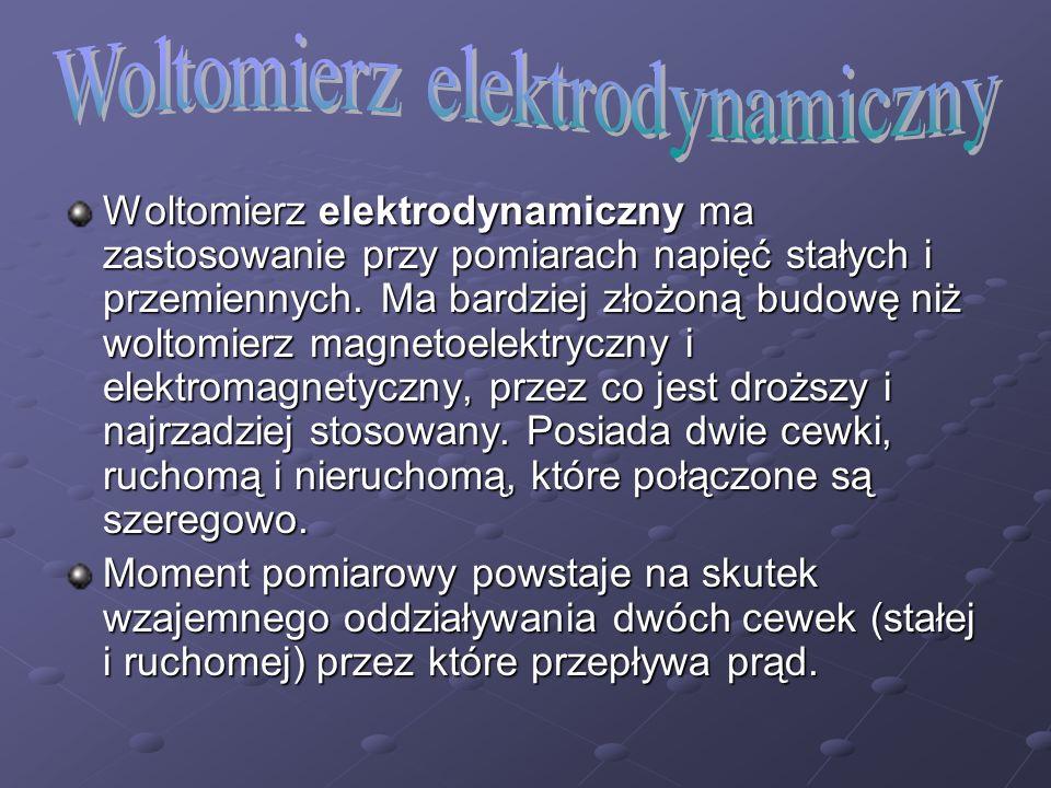 Woltomierz elektrodynamiczny