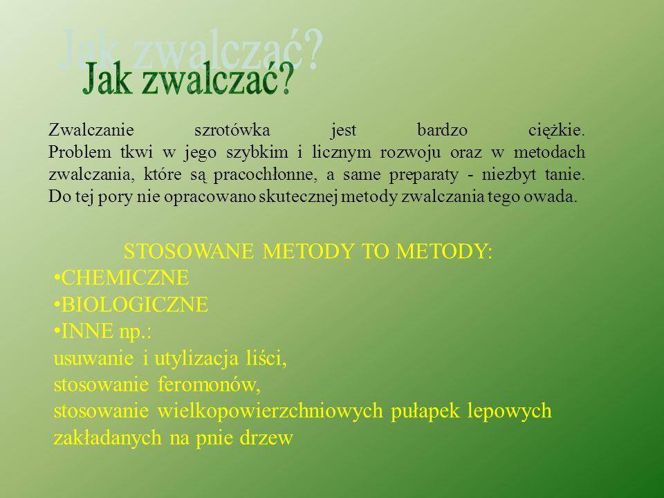 STOSOWANE METODY TO METODY: