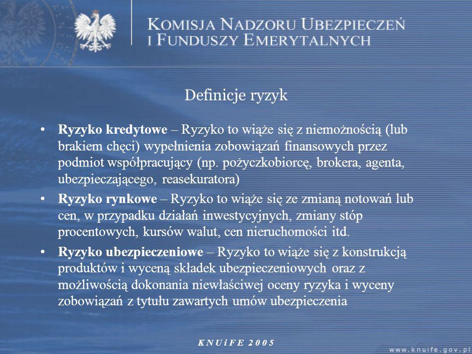 Definicje ryzyk