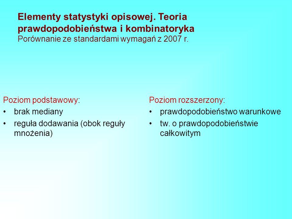 Elementy statystyki opisowej