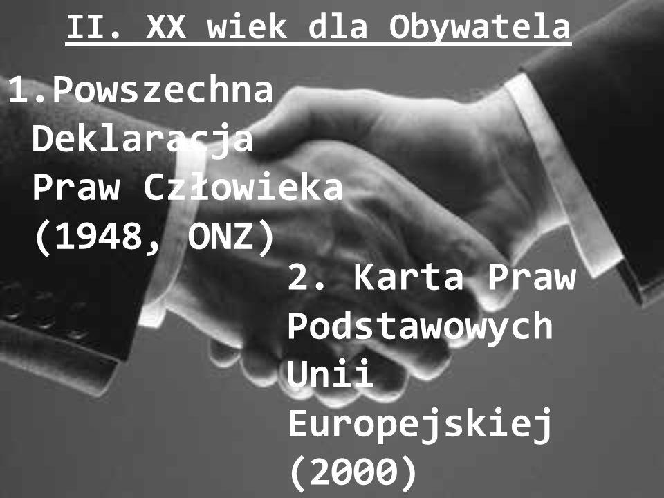 II. XX wiek dla Obywatela