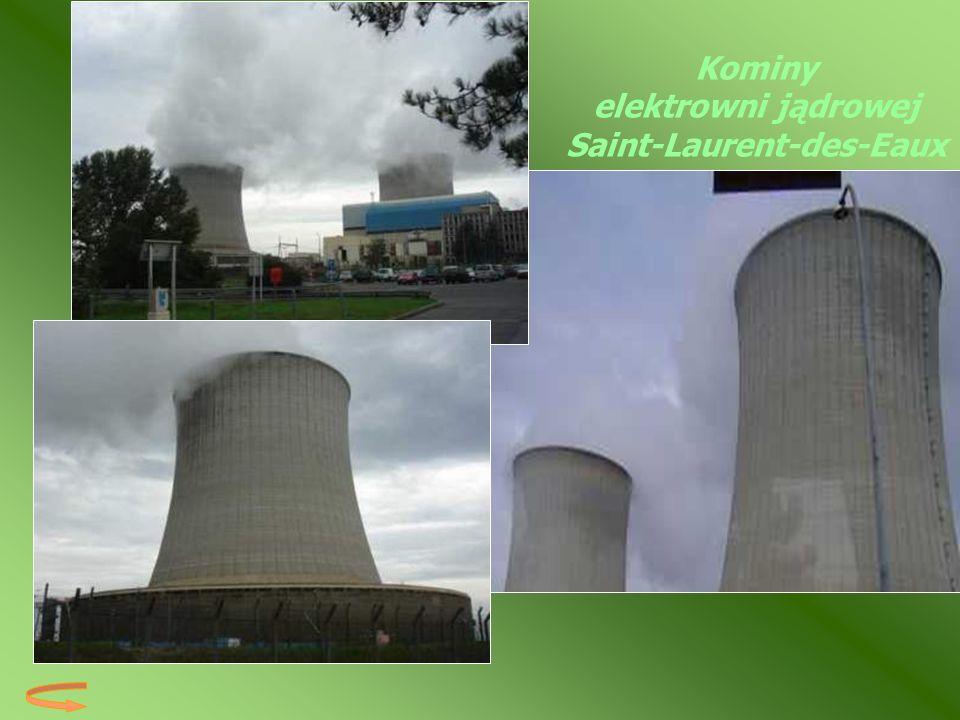 Kominy elektrowni jądrowej Saint-Laurent-des-Eaux