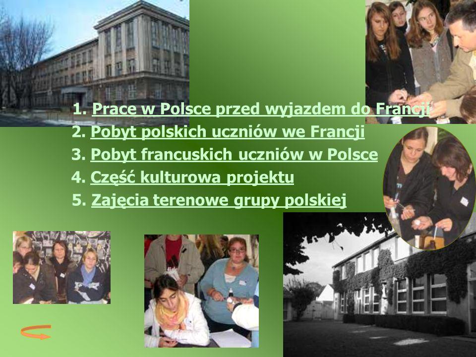 2. Pobyt polskich uczniów we Francji